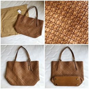 a9cebb775204 Michael Kors Bags - Michael Kors Collection Hutton Large Woven Tote